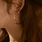 Joli Large Hoop Earrings