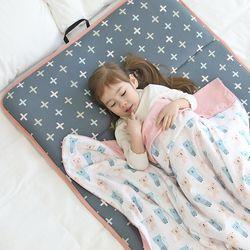 3D매쉬 라텍스 사계절 어린이집 낮잠이불 (일체형)