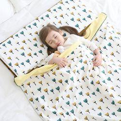 3D매쉬 라텍스 사계절 어린이집 낮잠이불 (커버분리형)