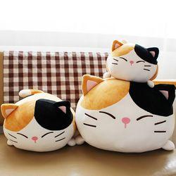모찌모찌 까망군 고양이쿠션 L