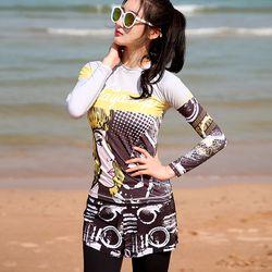 여성 클로이 보드숏 수영팬츠 비치반바지 JBWP205