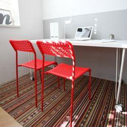 DIO 디오 조립식 철제 의자 2개 세트