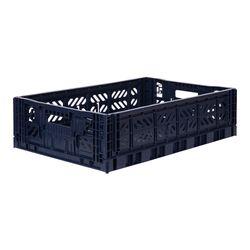 폴딩박스 L navy_Passive Lock 15.6cm