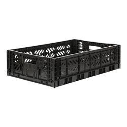 폴딩박스 L black_Passive Lock 15.6cm