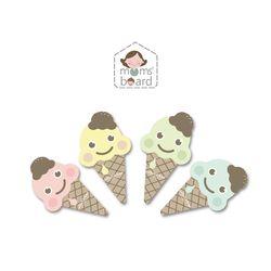 아이스크림지우개4종 유아 자석 칠판