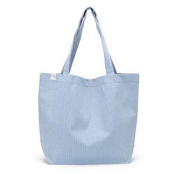stripe easy bag - blue