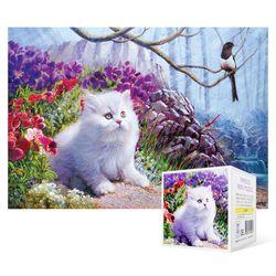 99피스 직소퍼즐  까치와 고양이 (미니)