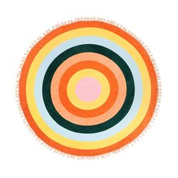 ALL AROUND GIANT CIRCLE TOWEL-color wheel