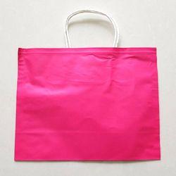 대용량 평판종이쇼핑백 핑크(29x22.5) 500장
