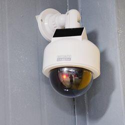 태양광 방수 모형카메라 CCTV