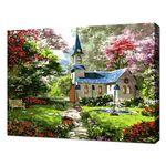 [명화그리기]4050 애이번리 마을의 교회 풍경 30색