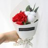 조화 카네이션 & 목화 꽃다발