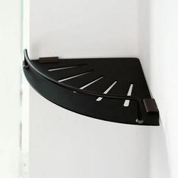 블랙 알루미늄 욕실코너선반