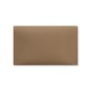 Double pocket pouch-Mocha