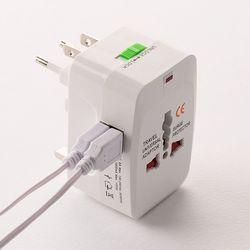 해외여행필수품 해외용 멀티아답터 [USB단자]