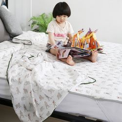 세탁가능한 3D매쉬 누빔 면 여름 통풍 쿨매트
