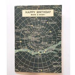 카드-Happy birthday celestial