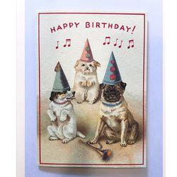 카드-Happy birthday dog2