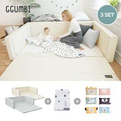 변신범퍼침대트윈3종특대형(침대+블랭킷+베개)