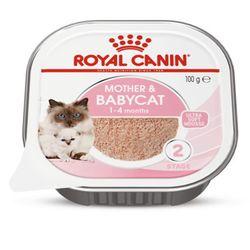 로얄캐닌 마더 앤 베이비캣 캔 195g12개고양이습식캔