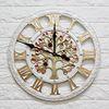 무소음 원형 돈나무시계 W22 부엉이시계