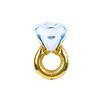 [파티용품] 다이아몬드 링풍선 (1ea)