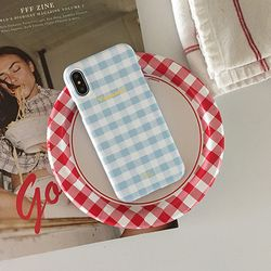 GINGHAM CHECK Phone case - Vacance
