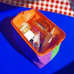 Enamel Make-up Pouch (3종)