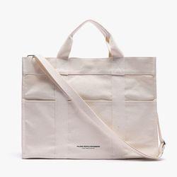 CANVAS 3WAY POCKET BAG (WHITE)