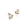[오뜨르뒤몽드]heart pebble earring (silver)