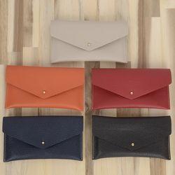 가죽 편지봉투 지갑