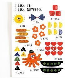 i like numbers-cutie ver.