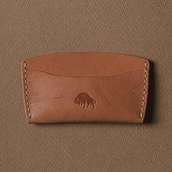 No.3 Wallet - Golden tan