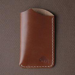 No.1 Wallet - Cognac