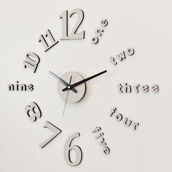 시크한 인테리어를 위해 DIY벽시계 클래식 시크베이지