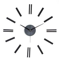 미니멀 인테리어벽시계 DIY 무소음벽시계 라인블랙