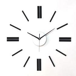 심플인테리어 벽 무소음 DIY벽시계 라인 진주펄BL