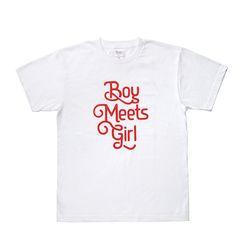 Boy Meets Girl T-shirt white
