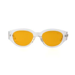D.fox Original Glossy Clear Orange Tint Lens