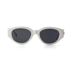 D.fox Original Glossy White  Black Lens