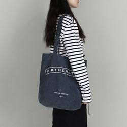 Mill C4 shoulder Bag 워시드 블루