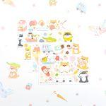 마넷 컷팅스티커 sampler - 시바지- (2018)