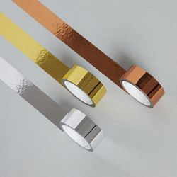 금속 컬러 테이프 3종 METALLIC TAPE 3 COLORS