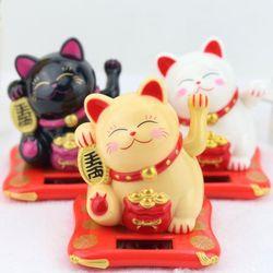 갓샵 손흔드는 일본 복 고양이 마네키네코 인형 중