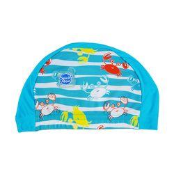 UPF50  유아용 수영모자 크레이지크랩
