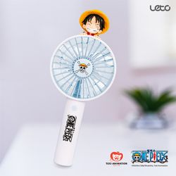 [무료배송] 원피스 피규어 미니 휴대용 선풍기 (루피)