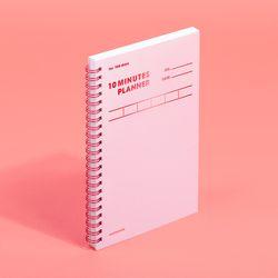 텐미닛 플래너 100DAYS 컬러칩 - 로즈쿼츠