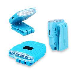 충전식 LED캡라이트 야간 안전등 ICLE17-208