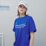Never dive tshirt-blue