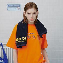 No jumping tshirt-orange